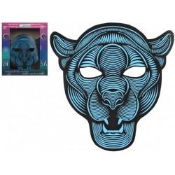 Masque de Panthère Lumineux à Led