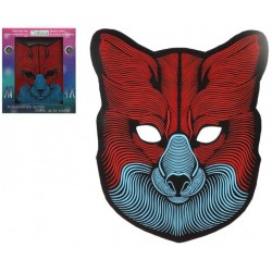 Masque de Loup lumineux à Led