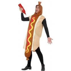 Déguisement Saucisse Hot-Dog pour Adulte