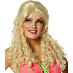 Perruque Blonde Ondulée Luxe