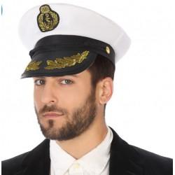 Casquette Capitaine Marin Déguisement