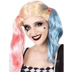Perruque Harley Quinn