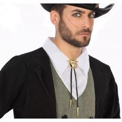 Cravate Lacet Taureau de Cowboy
