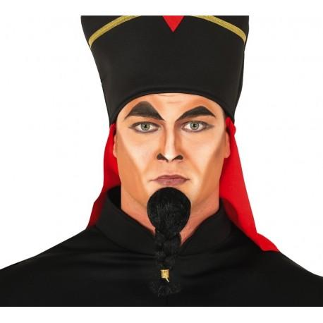 Barbe noire tressée de Jafar