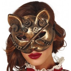 Masque de Chat Steampunk