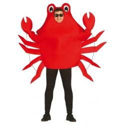 Déguisement Adulte Crabe Rouge