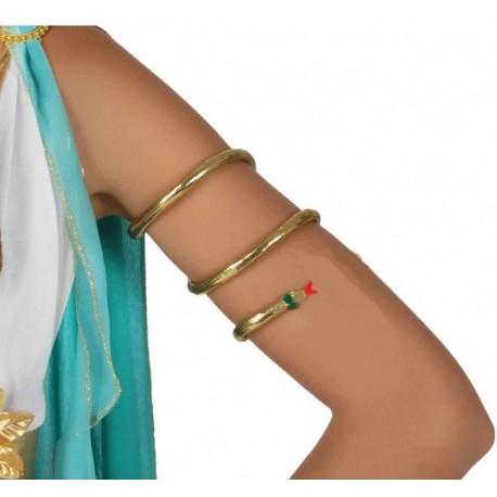 Bracelet Serpent Doré Cléopatre