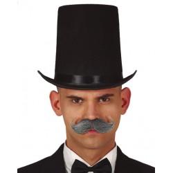 Chapeau Noir Haut de Forme Rocambole