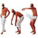 Pantalon Blanc Déguisement de Striptease