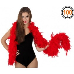 Boa Plumes Rouge 100g