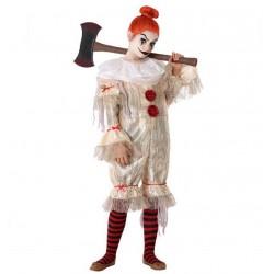 Déguisement Fille de Clown Ensanglanté