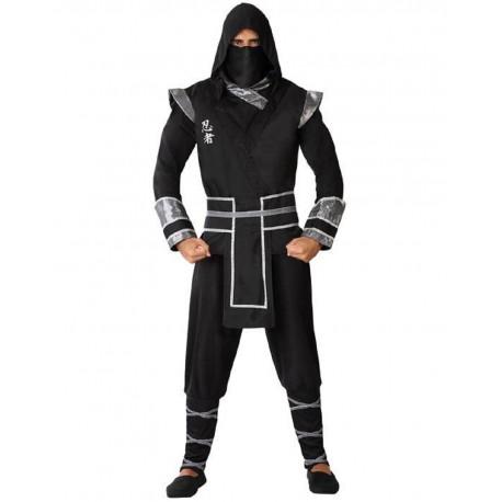 Déguisement Ninja Noir Homme