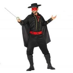 Déguisement Homme Zorro Bandit Masqué
