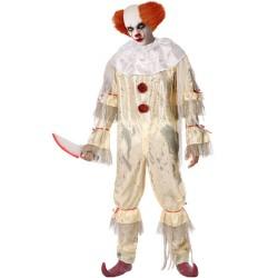 Déguisement Clown Ensanglanté Tueur ça