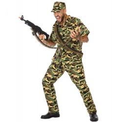 Déguisement Homme Soldat Militaire