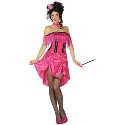 Déguisement Cabaret Rose Femme