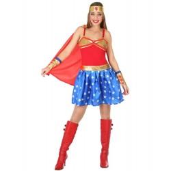 Déguisement Héroïne Wonder Woman Femme