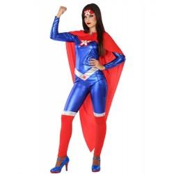 Déguisement Captain Marvel Femme