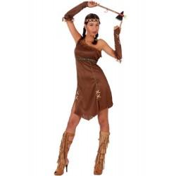 Déguisement Indienne Apache Femme