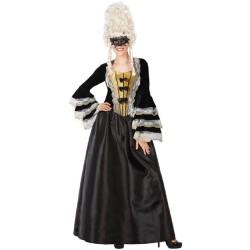 Déguisement Femme Marquise Noir