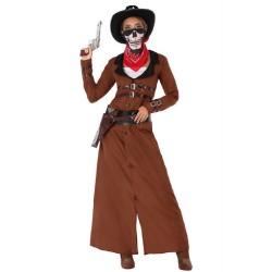 Déguisement Cowgirl Skull Femme