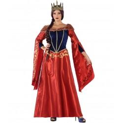 Déguisement Femme Reine Médiévale