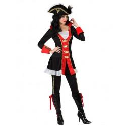 Déguisement Femme Pirate Commodor