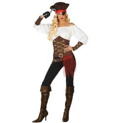 Déguisement Femme Pirate Corsaire