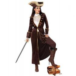 Déguisement Capitaine Pirate Elégante Femme