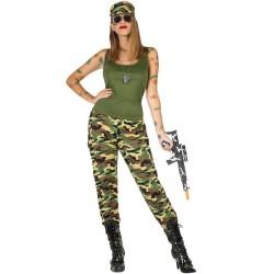 Déguisement Femme Militaire