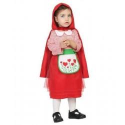 Déguisement Bébé Fille Petit Chaperon Rouge