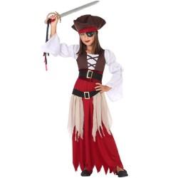 Déguisement Fille Pirate des Caraibes