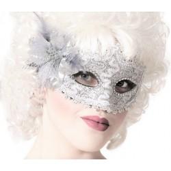 Masque Argent Marquise