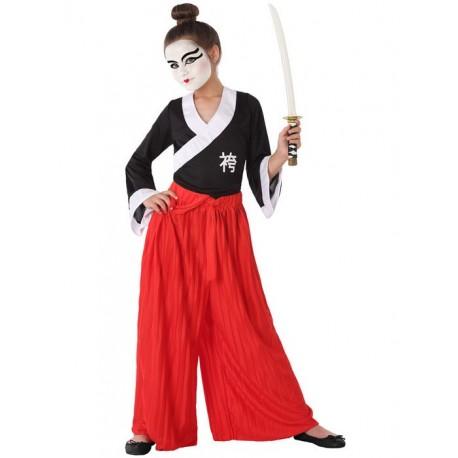 Déguisement Fille Samourai